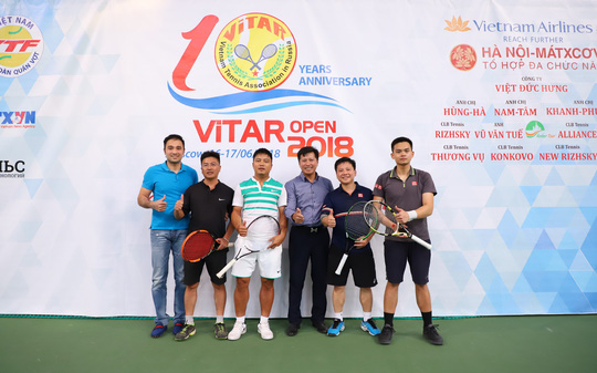 """Giải Quần vợt mở rộng """"ViTAR HÈ 2019"""": Gắn kết người Việt  - Ảnh 1."""
