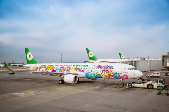 Tiếp viên hãng hàng không Đài Loan đình công vì tiền lương - Ảnh 1.