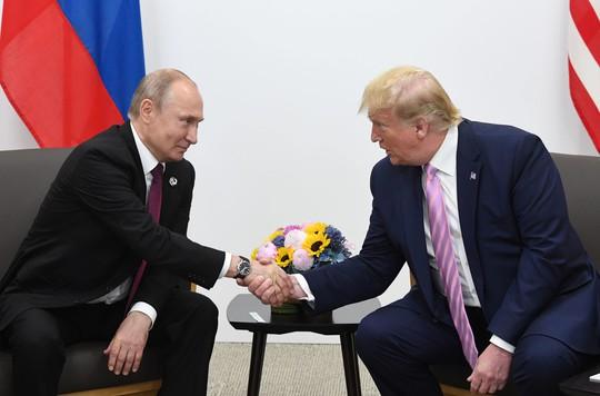 Hai Tổng thống Putin và Trump gặp nhau bên lề G20 - Ảnh 2.