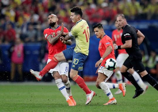 Clip: VAR hai lần giải cứu, Colombia vẫn gục ngã trước Chile - Ảnh 2.