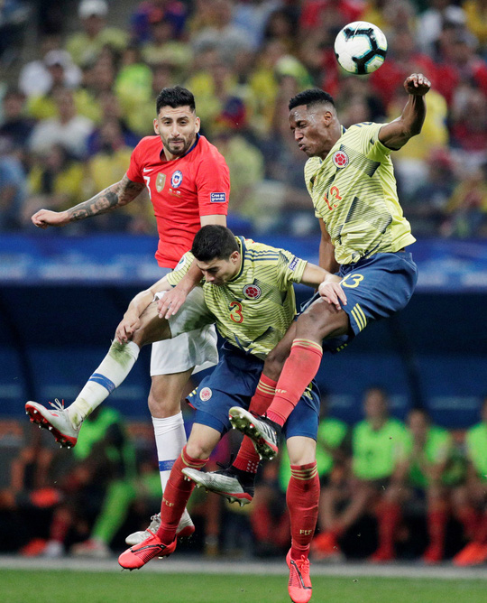 Clip: VAR hai lần giải cứu, Colombia vẫn gục ngã trước Chile - Ảnh 6.