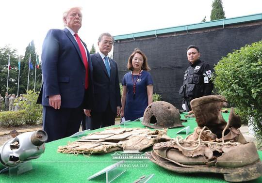 Ông Trump xin phép đặt chân lên lãnh thổ Triều Tiên - Ảnh 2.
