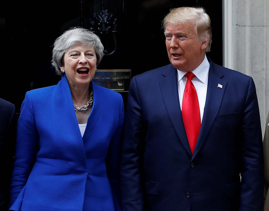 Brexit, Huawei phủ bóng thượng đỉnh Mỹ - Anh - Ảnh 1.