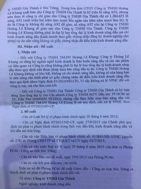 """Lật lại """"phi vụ"""" mua bán 2 triệu lít xăng có liên quan đến đại gia Trịnh Sướng - Ảnh 4."""