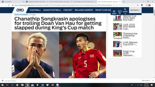 Messi Thái Lan dùng tiếng Việt xin lỗi Văn Hậu sau bình luận quá trớn - Ảnh 2.