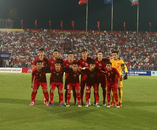 Xem lại vũ khúc trong mưa của U23 Việt Nam - Ảnh 3.