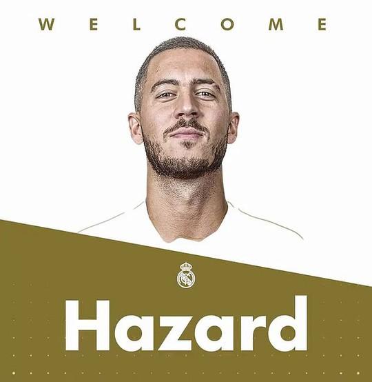 Real Madrid dốc túi 150 triệu bảng, chiêu mộ thành công Eden Hazard - Ảnh 1.