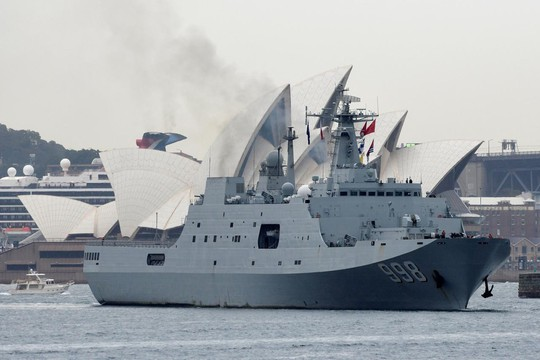 Trung Quốc tăng cường thách thức Úc tại Thái Bình Dương - Ảnh 1.