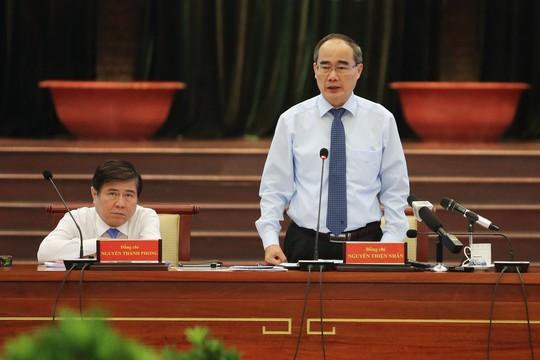 Hội nghị Thành ủy TP HCM thông qua nhiều nội dung quan trọng - Ảnh 1.