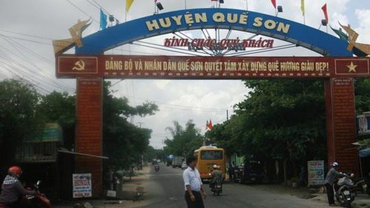 Phó bí thư huyện Quế Sơn bị tai nạn tử vong - Ảnh 1.