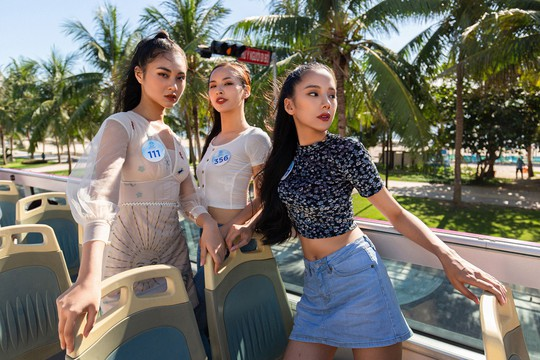Thí sinh Hoa hậu Thế giới Việt Nam lột xác - Ảnh 1.