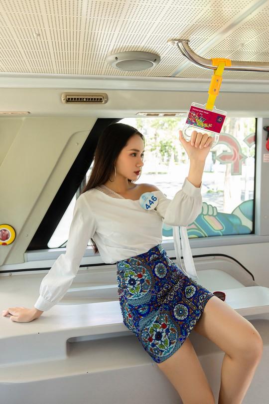 Thí sinh Hoa hậu Thế giới Việt Nam lột xác - Ảnh 3.