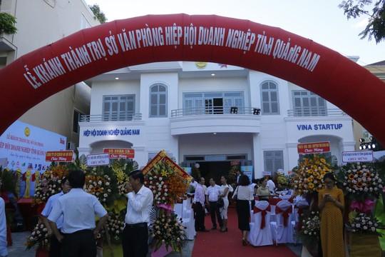 Hiệp hội Doanh nghiệp Quảng Nam có trụ sở mới khang trang - Ảnh 1.