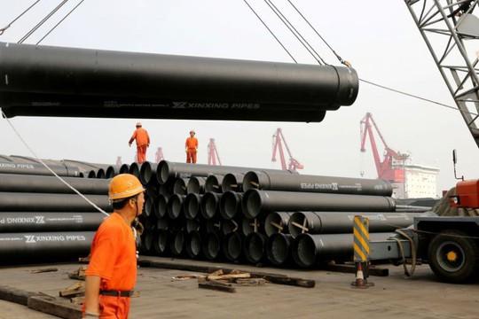 Mỹ áp thuế lên thép nhập khẩu Trung Quốc - Ảnh 1.