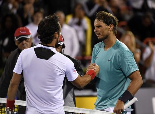 Clip Nadal ngược dòng vào bán kết Rogers Cup 2019 - Ảnh 1.