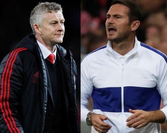 Trận đấu của Solskjaer và Lampard - Ảnh 1.