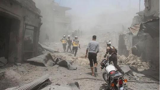 Quân của ông Assad phá được tường ở Syria - Ảnh 2.