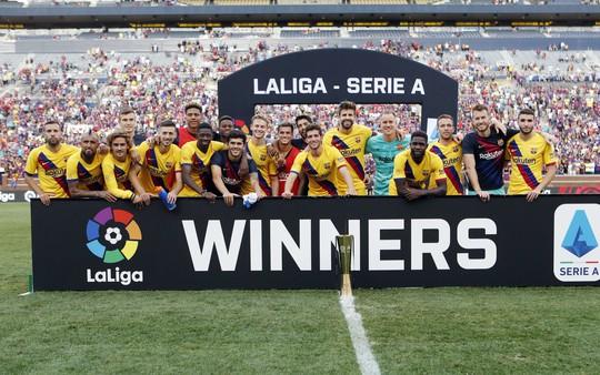 Barcelona – Napoli: Tân binh Griezmann tỏa sáng, thắng bùng nổ hiệp 2 - Ảnh 7.