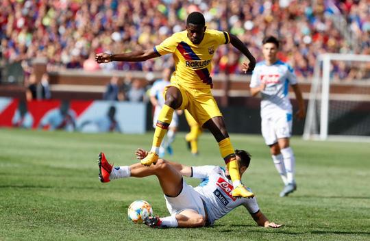 Barcelona – Napoli: Tân binh Griezmann tỏa sáng, thắng bùng nổ hiệp 2 - Ảnh 2.