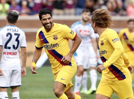 Barcelona – Napoli: Tân binh Griezmann tỏa sáng, thắng bùng nổ hiệp 2 - Ảnh 4.