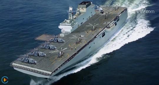 """Hình ảnh hạm đội tàu sân bay """"ẩn"""" của Trung Quốc - Ảnh 1."""