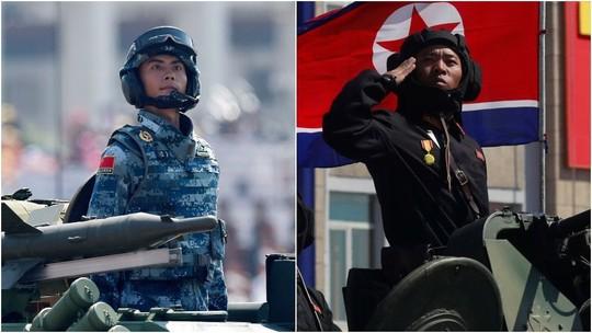 Trung Quốc - Triều Tiên tăng cường hợp tác quân sự đối phó Mỹ? - Ảnh 1.