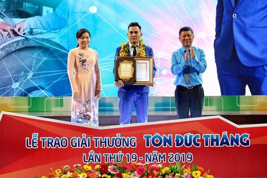 Giải thưởng Tôn Đức Thắng năm 2019: Vinh danh 10 kỹ sư, công nhân tiêu biểu - Ảnh 5.