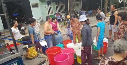 Thiếu nước nghiêm trọng, Đà Nẵng đề nghị báo cáo Thủ tướng - Ảnh 1.