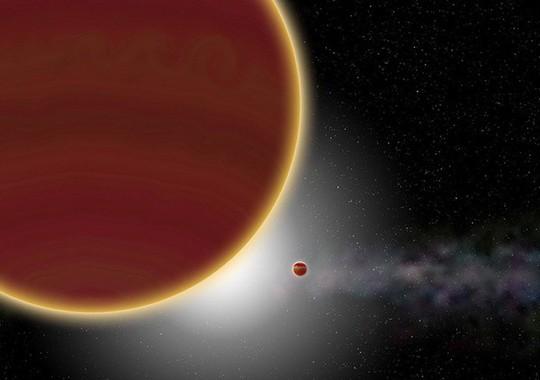 Phát hiện hành tinh khổng lồ nặng khoảng 2.900 lần trái đất - Ảnh 1.