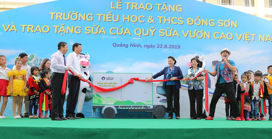 Chủ tịch Quốc hội Nguyễn Thị Kim Ngân vận động xây dựng trường học tại Quảng Ninh - Ảnh 2.