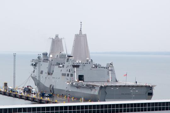 Phớt lờ Trung Quốc, tàu quân sự Mỹ tiếp tục qua eo biển Đài Loan - Ảnh 1.