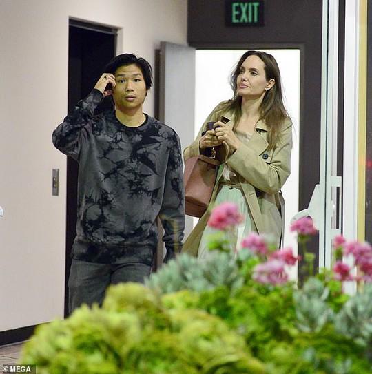 Pax Thiên rắn rỏi, mạnh khỏe bên mẹ nuôi Angelina Jolie - Ảnh 1.