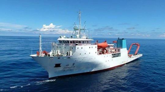 Tàu khảo sát Trung Quốc âm thầm trở lại vùng biển Philippines - Ảnh 1.