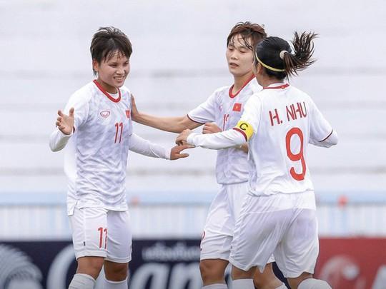 Việt Nam gặp Thái Lan ở chung kết Giải bóng đá nữ Đông Nam Á 2019 - Ảnh 1.