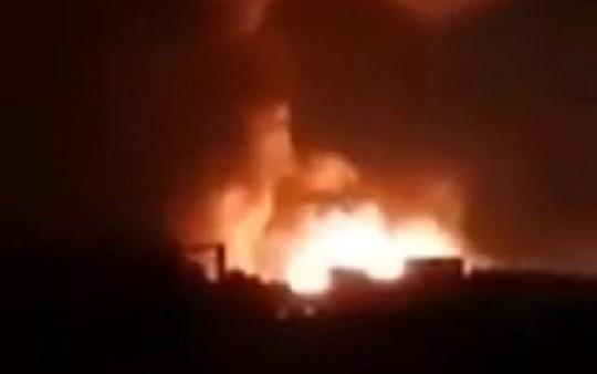 """Israel không kích quân Iran tại Syria, chặn """"UAV sát thủ"""" - Ảnh 1."""