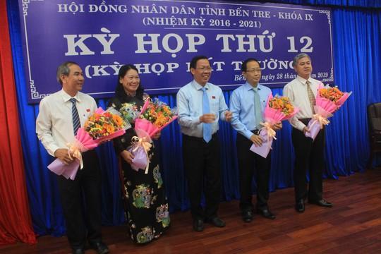 Bến Tre có 2 tân Phó Chủ tịch UBND tỉnh - Ảnh 1.