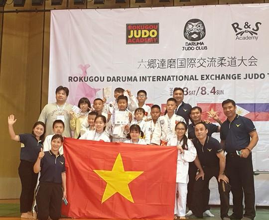 Judo thiếu nhi Việt Nam có thêm 11 HCĐ quốc tế - Ảnh 1.