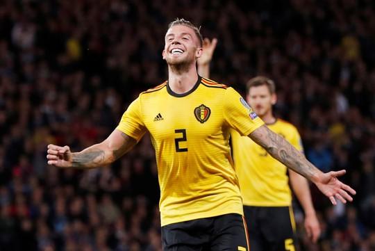 De Bruyne lập hat-trick kiến tạo, Bỉ đè bẹp Scotland vòng loại Euro - Ảnh 5.