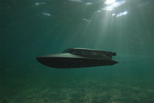 """Hải quân Anh thử nghiệm tàu ngầm của """"điệp viên 007"""" - Ảnh 1."""