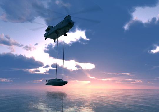 """Hải quân Anh thử nghiệm tàu ngầm của """"điệp viên 007"""" - Ảnh 3."""