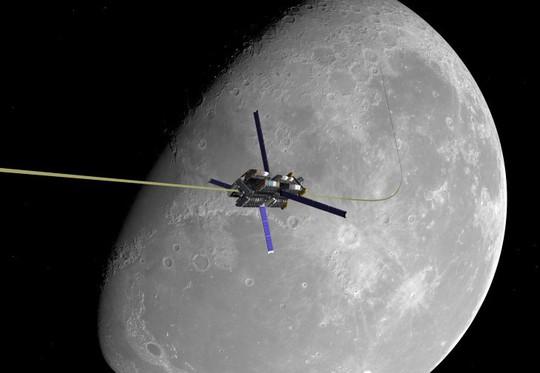 Thang máy đi lên mặt trăng là khả thi - Ảnh 1.