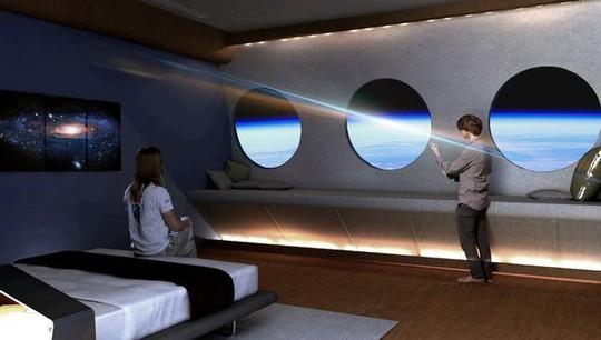 Khách sạn không gian đầu tiên có trò chơi bóng rổ, leo núi - Ảnh 4.
