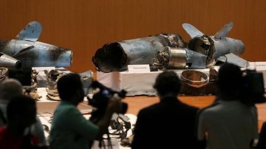 Ả Rập Saudi trưng bằng chứng Iran đứng sau các vụ tấn công dầu mỏ - Ảnh 2.