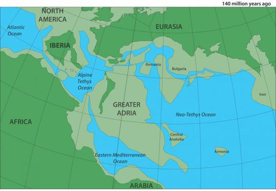 Tìm thấy một lục địa mới… dưới đáy biển Địa Trung Hải - Ảnh 1.