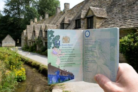 Thăm ngôi làng trên hộ chiếu nước Anh - Ảnh 5.
