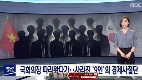 Vụ 9 người đi chuyên cơ bỏ trốn ở Hàn Quốc: Đã có 3 người về nước - Ảnh 1.