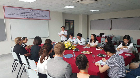 Đà Nẵng tổ chức thanh tra Trường liên cấp quốc tế Singapore - Ảnh 1.