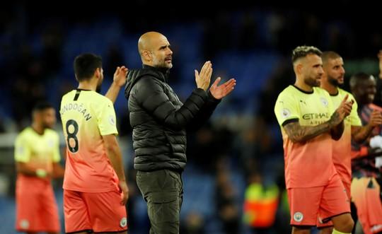 Khoan thủng lưới Man City, Calvert-Lewin được HLV Guardiola để mắt - Ảnh 1.