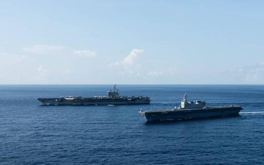 Mỹ điều tàu sân bay tới biển Đông - Ảnh 1.