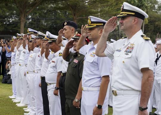 Những hình ảnh ban đầu về diễn tập hải quân Mỹ-ASEAN - Ảnh 2.